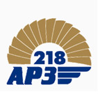 логотип 218 Авиационный ремонтный завод, г. Гатчина