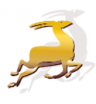 логотип Меховая фабрика Золотая Антилопа, Пятигорск