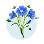 логотип Бийская льняная компания, г. Бийск