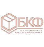 логотип Богородицкая картонная фабрика, г. Богородицк