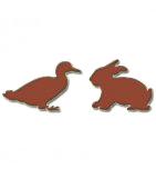 логотип Брюховецкий кролик, ст. Брюховецкая
