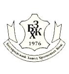 логотип Богородский завод хромовых кож, г. Богородск