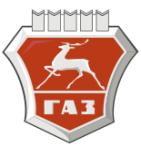 логотип Горьковский автомобильный завод, г. Нижний Новгород