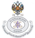 логотип Кузнецовский фарфор, г. Ликино-Дулево