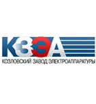 логотип Козловский завод электроаппаратуры, г. Козловка