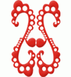 логотип Лавровская фабрика художественной росписи, г. Нерехта