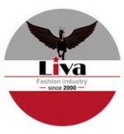 логотип Швейное предприятие Лива, Москва