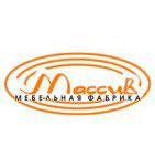 логотип Мебельная фабрика Массив, Людиново