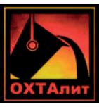 логотип ОХТАлит, Санкт-Петербург