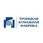 логотип Троицкая бумажная фабрика, г. Кондрово