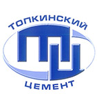 логотип Топкинский цементный завод, Топки