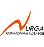 логотип Юргинский машиностроительный завод, Юрга